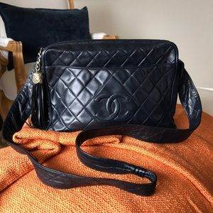 Vintage Chanel Crossbody Camera Bag